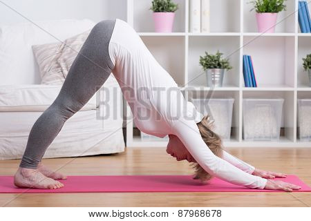 Well Stretched Woman
