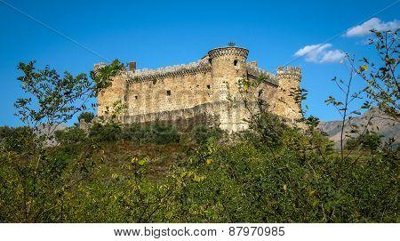 Mombeltran Castle, Avila, Castilla Y Leon, Spain