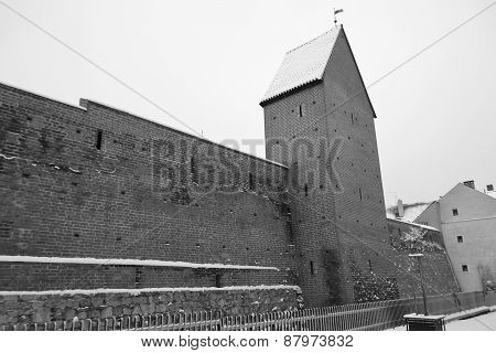 Old Castle Wall.
