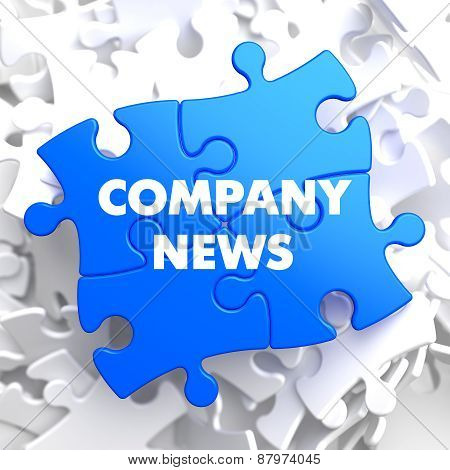 Company News on Blue Puzzle.