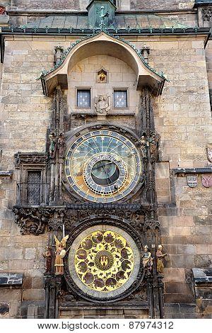 Astronomical Clock, Prague, Czech Republic, Europe