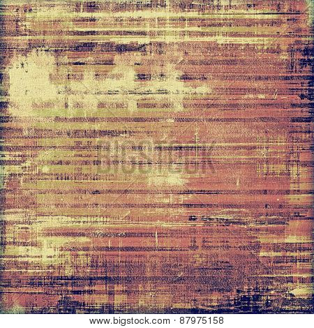 Vintage texture with space for text or image. With different color patterns: purple (violet); yellow (beige); brown