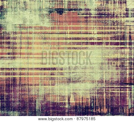 Old texture as abstract grunge background. With different color patterns: purple (violet); brown; gray