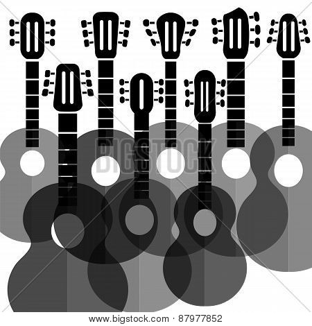 Silhouettes Guitars