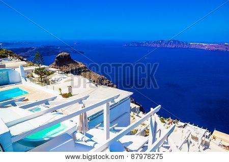 Imerovigli Caldera View, Santorini, Greece