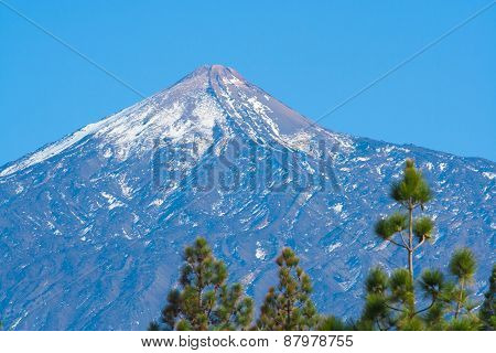 Pico Del Teide Mountain Top, Tenerife, Spain