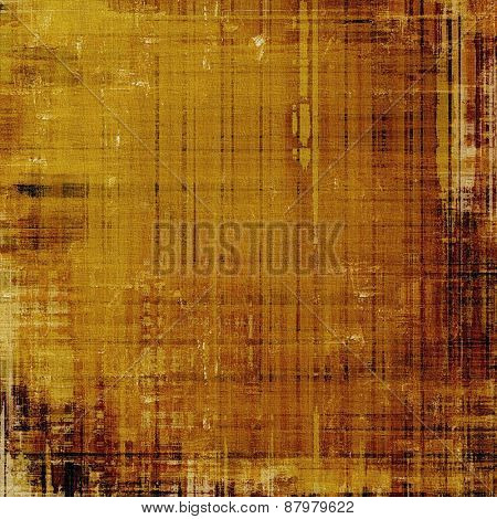 Beautiful vintage background. With different color patterns: yellow (beige); brown