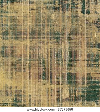 Rough grunge texture. With different color patterns: yellow (beige); brown; gray