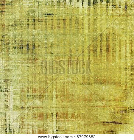 Old grunge antique texture. With different color patterns: yellow (beige); brown; gray