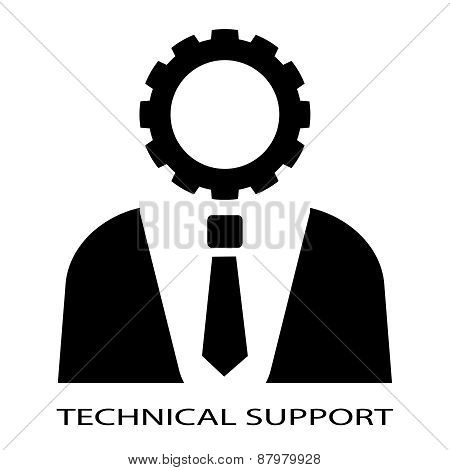 Technical support person
