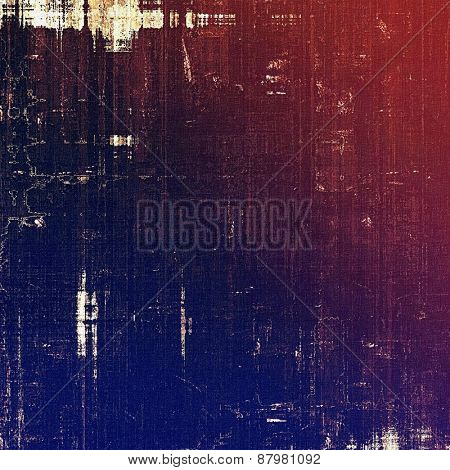 Vintage spotted textured background. With different color patterns: purple (violet); blue; red (orange); pink
