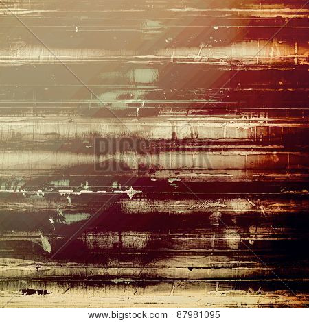 Grunge colorful background or old texture for creative design work. With different color patterns: purple (violet); brown; gray; black