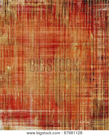 Grunge retro vintage textured background. With different color patterns: yellow (beige); red (orange); brown