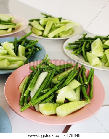Beans And Cucumbers