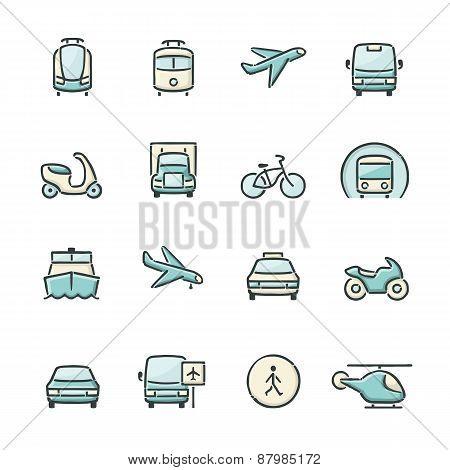 Transport Icons