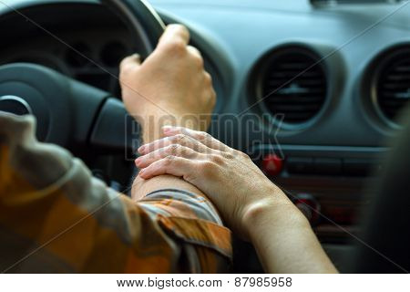 Hands On The Wheel