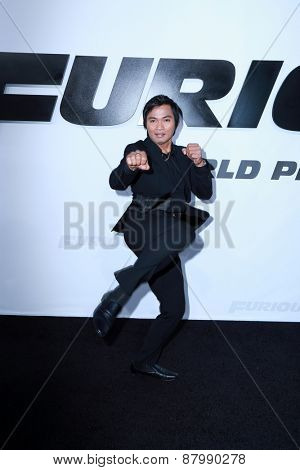 LOS ANGELES - FEB 1:  Tony Jaa at the