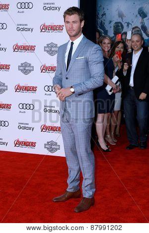 LOS ANGELES - FEB 13:  Chris Hemsworth at the