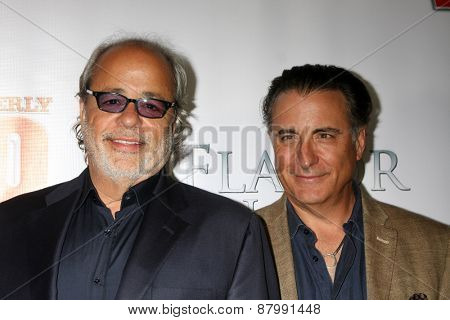 LOS ANGELES - FEB 13:  Rene Garcia, Andy Garcia at the