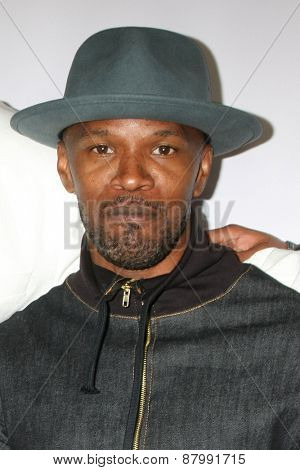 LOS ANGELES - FEB 13:  Jamie Foxx at the
