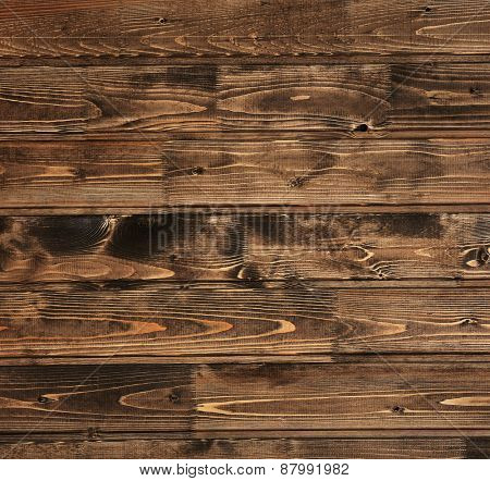 Dark brown wooden background
