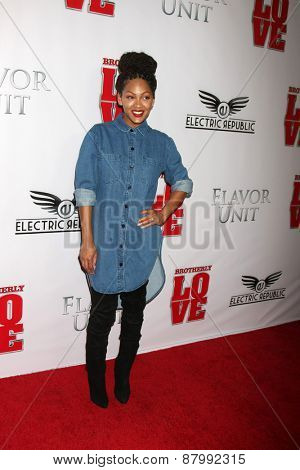 LOS ANGELES - FEB 13:  Megan Good at the