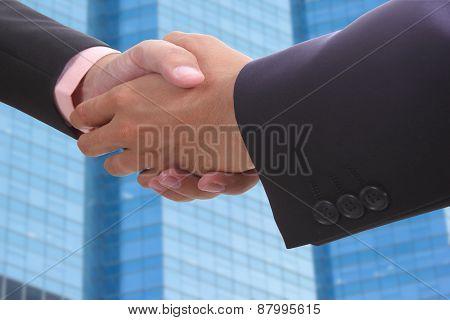 Businessman Shake Hands