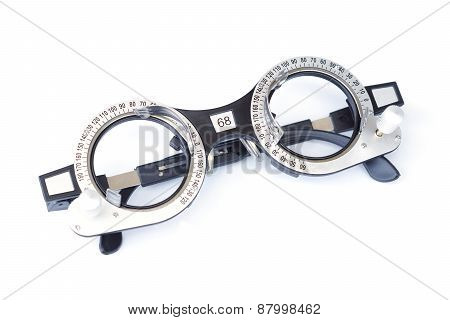 trial frame - eyeglasses equipment