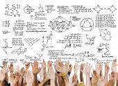 foto of formulas  - Formula Mathematics Equation Mathematical Symbol Geometry Information Concept - JPG