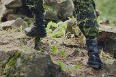foto of trooper  - war - JPG