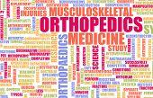 stock photo of orthopedic surgery  - Orthopedics or Orthopedics Medical Field Specialty As Art - JPG