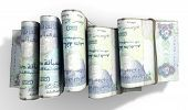 stock photo of dirhams  - A close - JPG