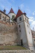 picture of bohemia  - Medieval Krivoklat castle in Central Bohemia Czech Republic - JPG