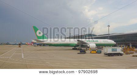 Civil Aircrafts Parking At Tan Son Nhat International Airport