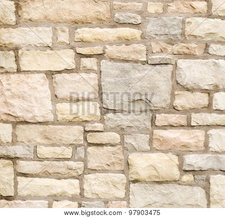 Pattern Color Texture Of Modern Style Design Decorative Real Stone Wall Surface