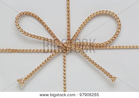 Gold String Bow