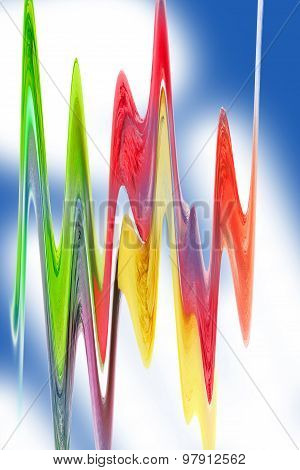 Colorful Wave Graphics