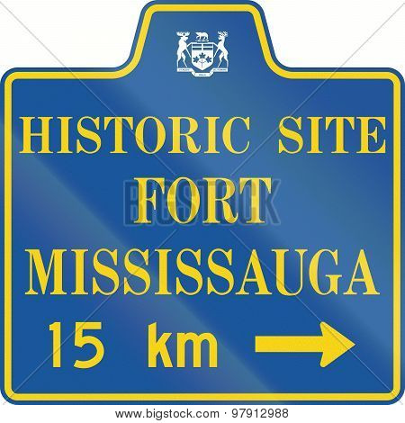 Historic Site Fort Mississauga In Canada