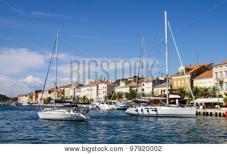 Mali Losinj On Island Of Losinj