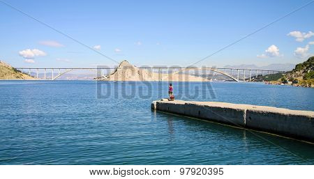 Bridge To Krk Island, Croatia