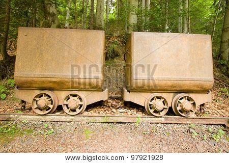 mining wagons