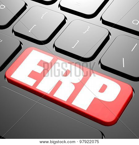 Keyboard With Erp Text