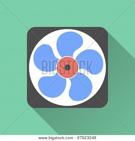 Exhaust fan icon