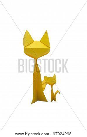 Yellow Paper Cat