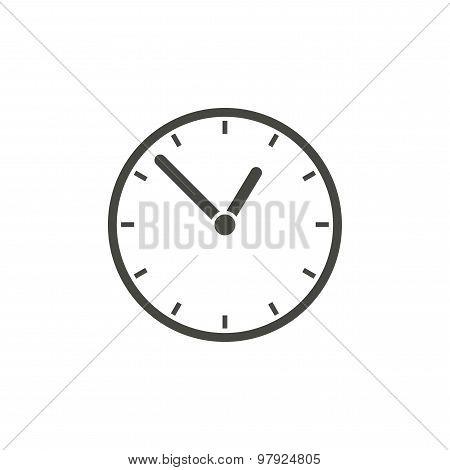 Time vector icon