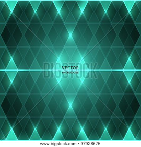 abstract rhombus (diamonds) background. vector illustration eps10