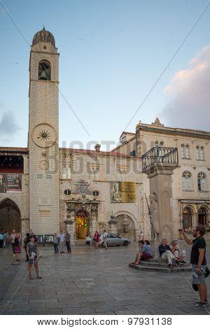 Main Street Scene, Dubrovnik