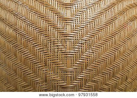 Rattan Pattern Handmade Background.