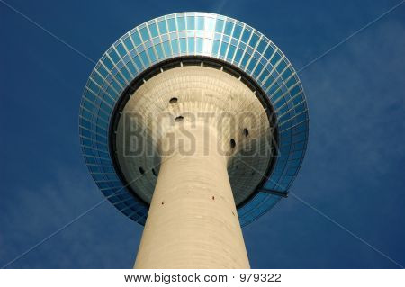 Upward View Of Radio Tower