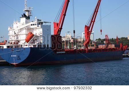 Vessel Loading